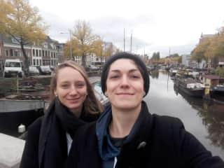 Christiane and Ricarda