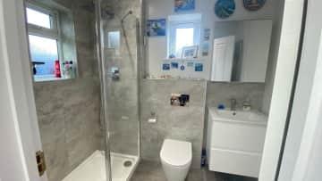 Shower room, large walk in shower - ground floor