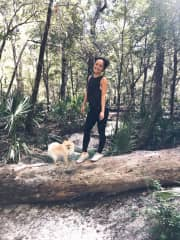 Dog friendly walking trails are a great way to get some energy out