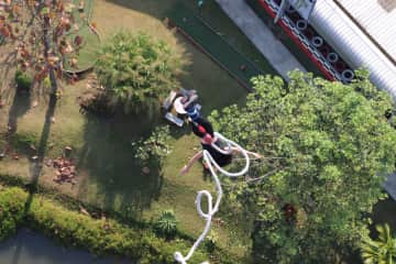 Bungee Jumping in Thailand