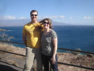 2013 - Levi and Koreen in Maui