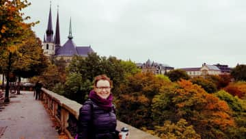 Me in Luxembourg, October 2017