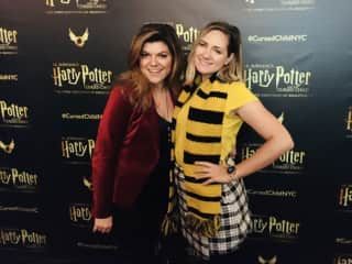 Seeing Harry Potter with my roommate in New York City. 2019.