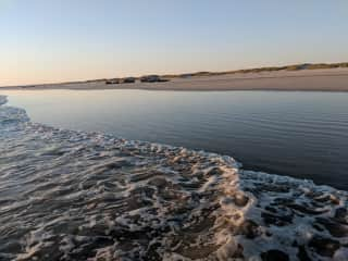 Treguennec beach, a 20 minute drive away