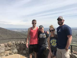 Hiking with my Kids in Chattanooga, TN