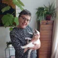 Margaret with Coco