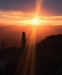Outstanding Tucson Sunset