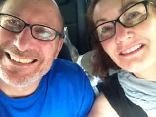 Bas and Heather on holiday in Western Australia late 2017