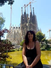 I love travelling...pictured here in Barcelona