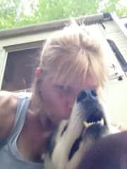 Linn and Harley; best dog ever! 2002-2015;