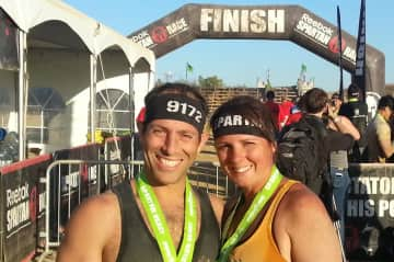 We did the Spartan Beast together.