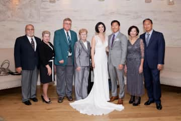 Our family on our wedding day