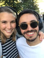 Carlos and Sina
