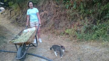 Esther and Mr Tibbs