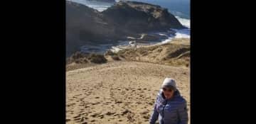 Diane at Cape Kiwanda