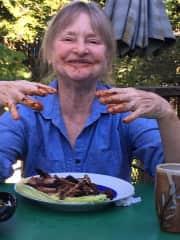 Jane loves good food
