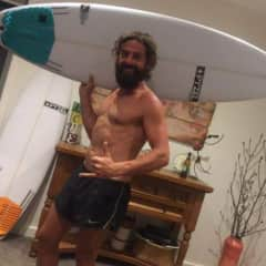 Me with my favorite surf board... 🤣