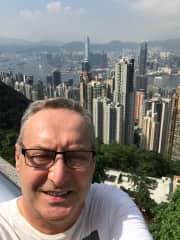 Dan at The Peak, Hong Kong