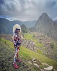 Machu Picchu and me