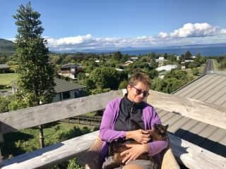 We are both enjoying; housesit in NZ