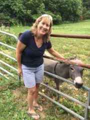Me, on my friend's farm