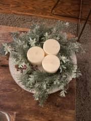 Some Christmas decoration for the season