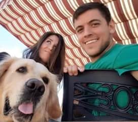 Sonia, Ruben y Pongo