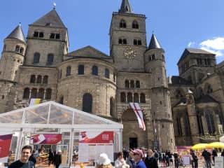 Trier town center