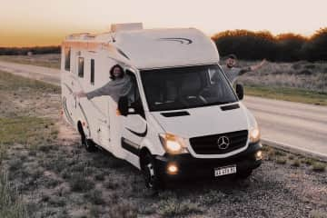 Our trip in the south part of Argentina in this motorhome.