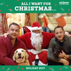 Christmas with Joe, Santa, Sal, Gaby and Ariel