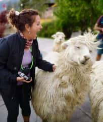 Me taking photos in Peru 2019. Big or small, I love them! Peru 2019