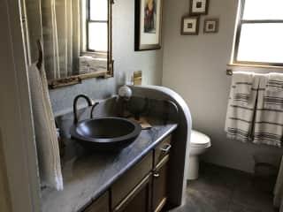 #3 bath/powder room