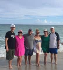 Family beach trip - I love the beach!
