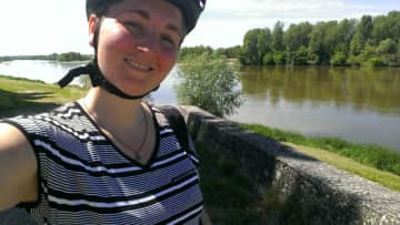 Cycling in the Loire Valley of France