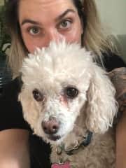 Summer of 2018. Dog-sitting Colette in Sedona, AZ.