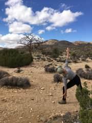 Yoga/hike Joshua Tree