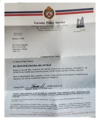 Lloyd Jan 2020 Criminal records check