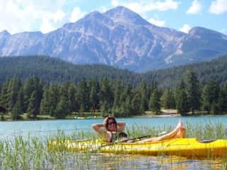 Pyramid Lake,  Jasper, Alberta, my backyard!