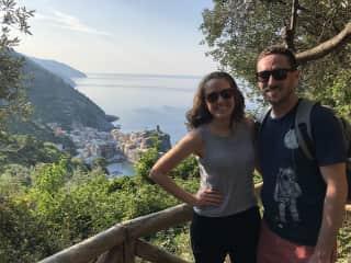 Hiking along the Italian coast