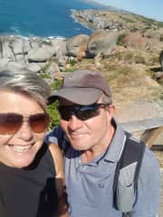 Sian & David in Australia