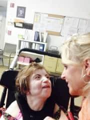My special special needs daughter Karen!♥️