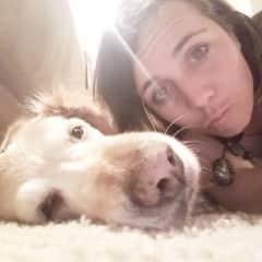 Kelsey and her bestie Bentley