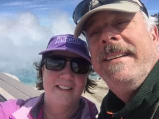 My husband and I in Yosemite.