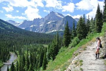 Hiking, Glacier National Park