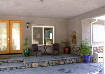 This is the front door.