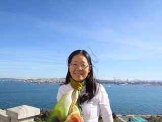 I was in Istanbul, Turkey
