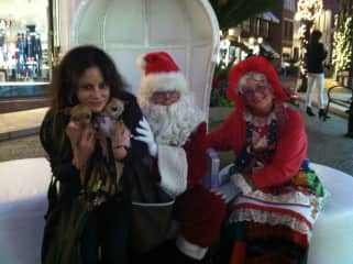 Mocha and Java with Santa and Mrs. Claus