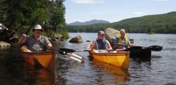 Canoeing with my son and father