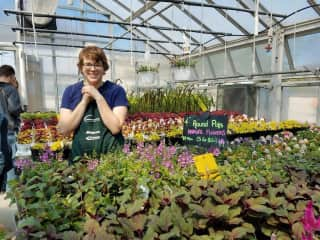 Greenhouses make me and my students very happy