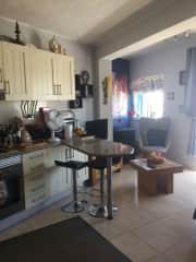 Kitchen diner room.